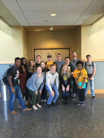 The Student Government Association took their annual fall safety walk after their weekly meeting on Oct. 10.