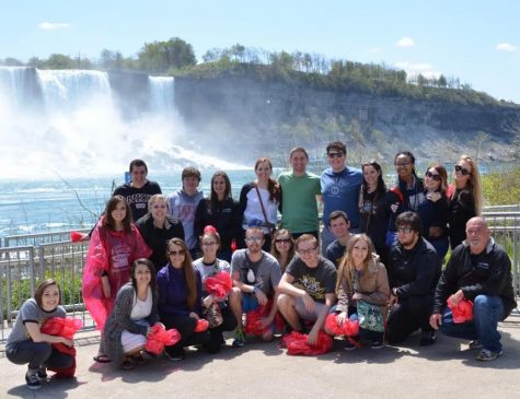 NKU's chamber choir performed in Niagara Falls and made other stops in Toronto, Ottawa, Quebec City and Montreal.