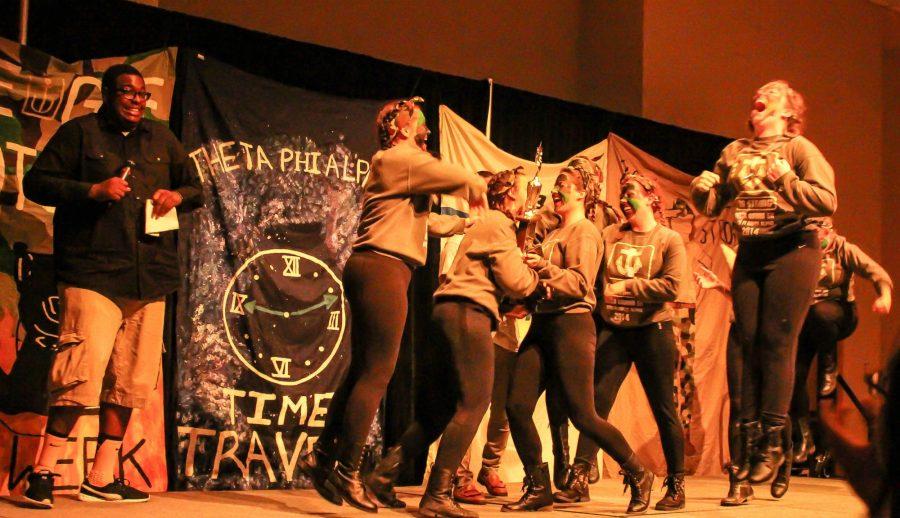Delta Gamma won Stompapalooza 2016, defeating three time reigning champions Alpha Omicron Pi.