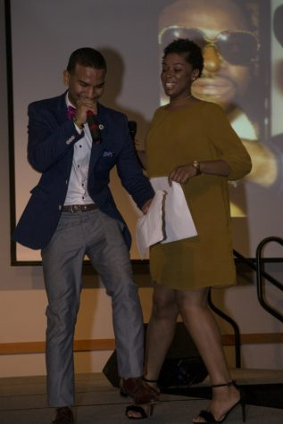 James Johnson and Ashley Wilson hosted the event. Adding context to the difference sections throughout the show, which spotlighted black culture and fashion.