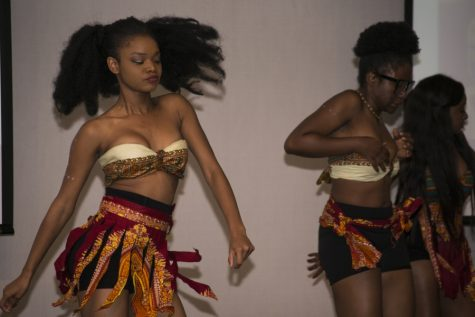 The African Student Union performed before the African culture section of the night.
