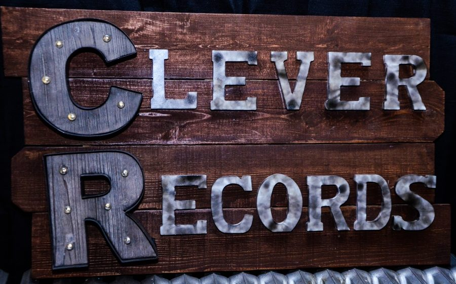 Clever Records is located in Newport. Built and ran within the trio's apartment, they manage their business and school at the same time.