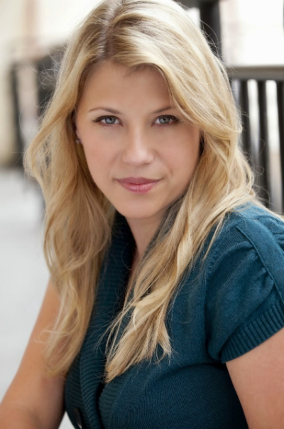 Jodie Sweetin spoke on campus Tuesday night and shared her story of addiction.