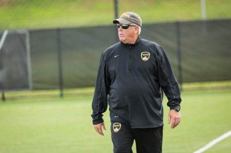 BREAKING: Basalyga retires as men's soccer coach