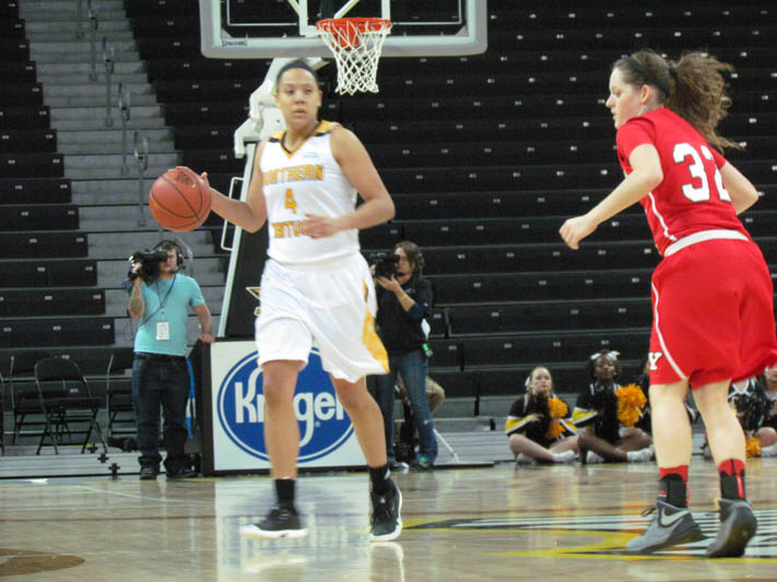 Mikayla Terry scored 16 points in the win against Youngstown State