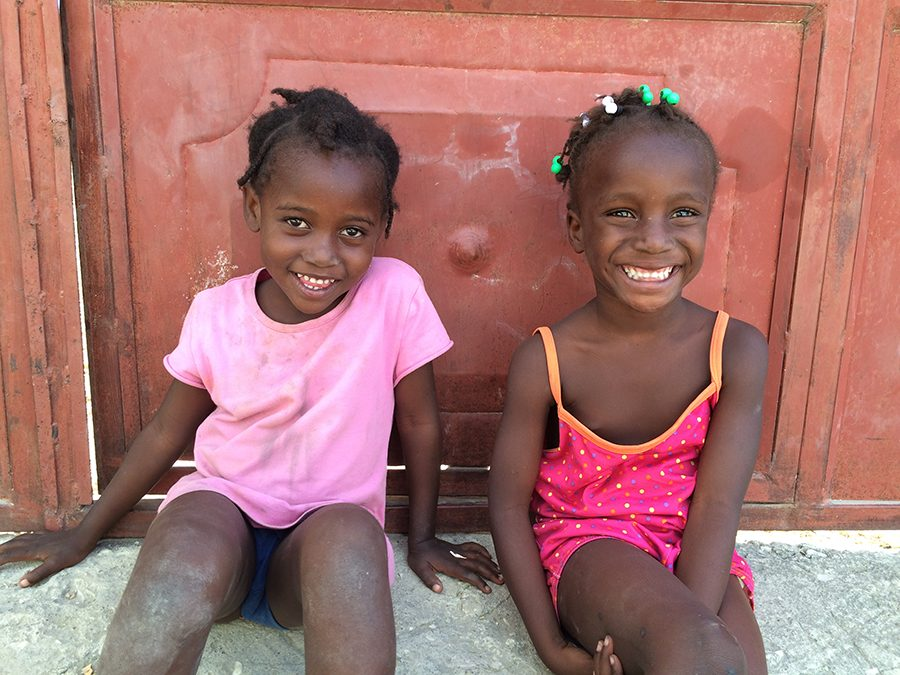 Turner took a semester off last spring to spend a month in Haiti.