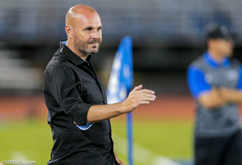 Stu Riddle was named the new NKU men's soccer coach Monday. Riddle has been at the University of Buffalo for the past four season and led the Bulls to a MAC Championship in 2016