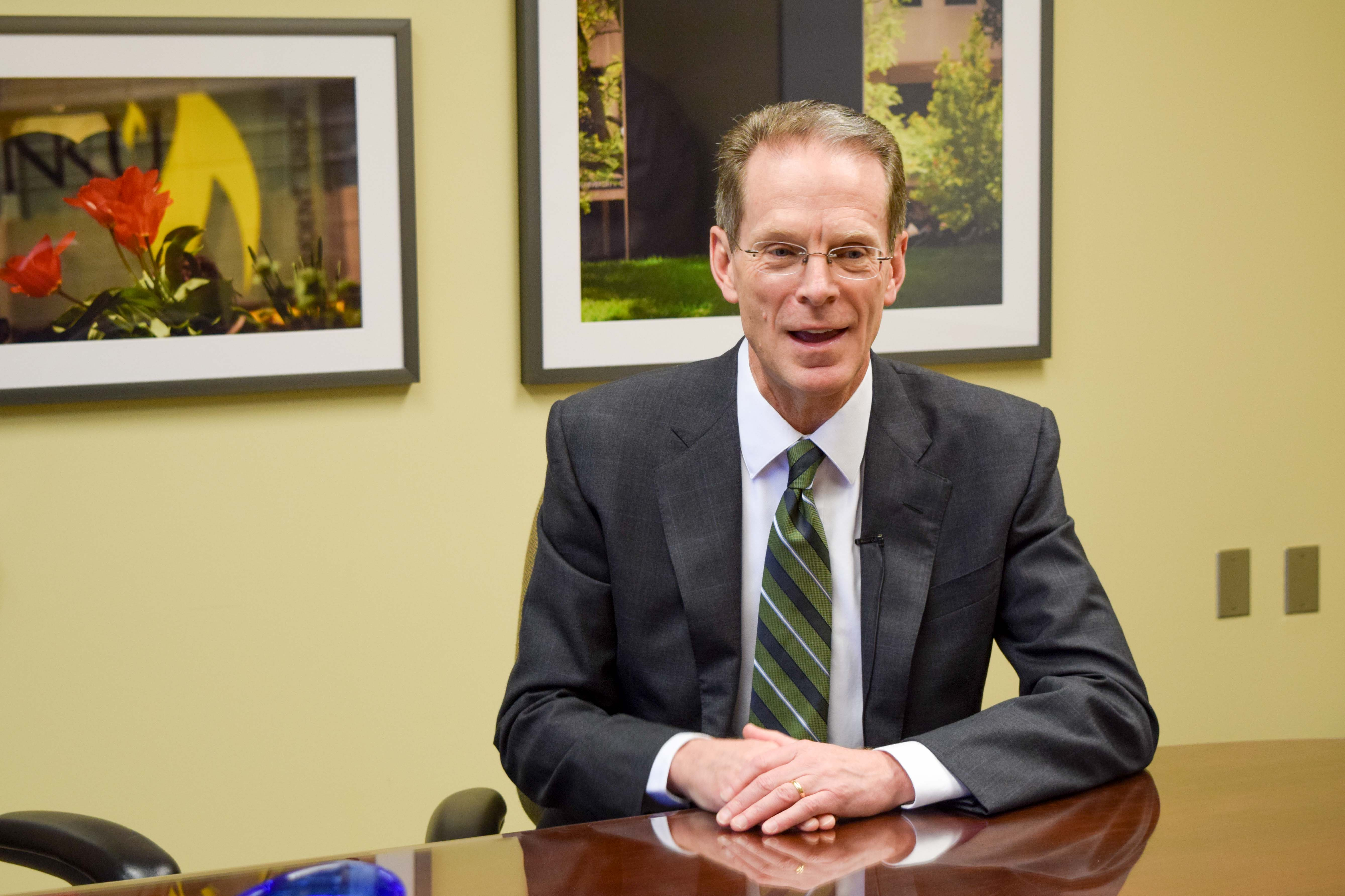 NKU President Geoffrey Mearns discussed some of the things during his tenure that he was most proud of during an interview with The Northerner earlier this week.