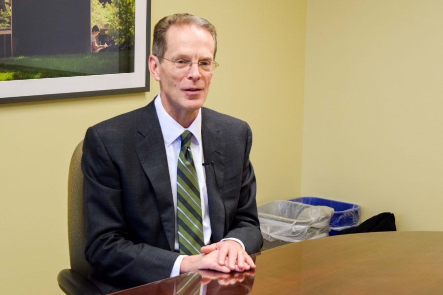 Geoffrey Mearns discusses the transition from current NKU president to future Ball State president.