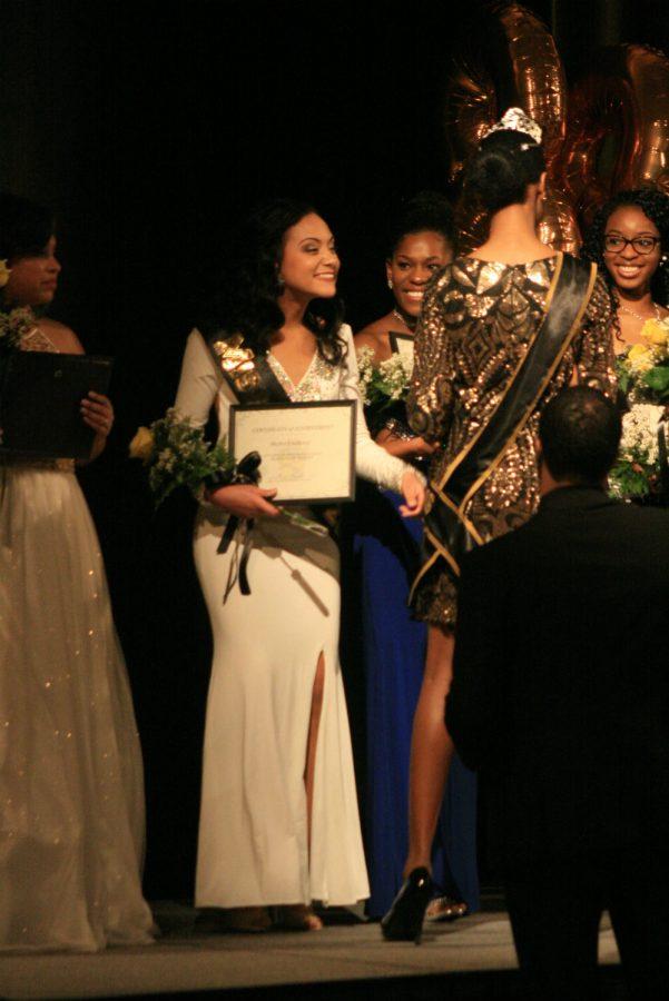 Skyler Faulkner was second runner up and crowned Miss Black.