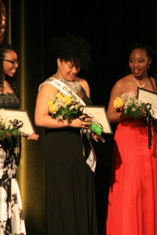 Cierra English was crowned Miss Congeniality.