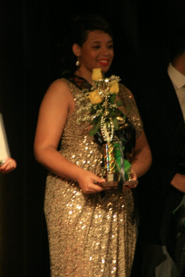 Tiara Atwater received Miss Gold and was first runner up.