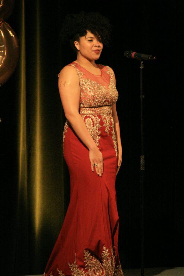 Contestant 6, Cierra English, Evening Gown.