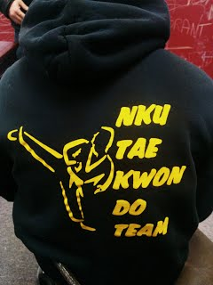 The NKU taekwondo club is one of Fightmaster's safe havens. Every Thursday and Friday the members meet at the Rec Center to hone their skills for competition.