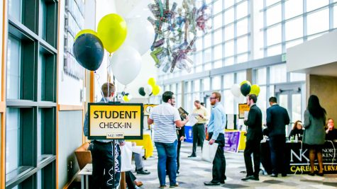 More than 135 businesses attended the Career Expo.