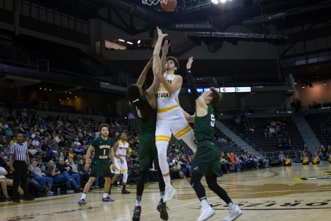 Cole Murray (25) had 23 points Tuesday in NKU's win over Wright State.