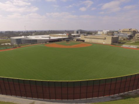 The new turf outfield cost the university $600,125.