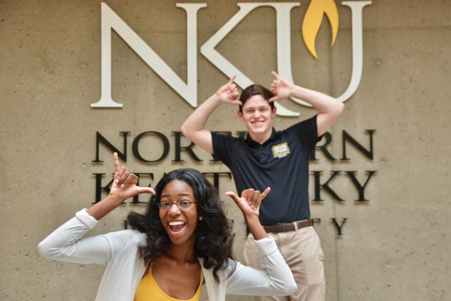 Dejah Rawlings and Troy Cornes are running for president and vice president of SGA.