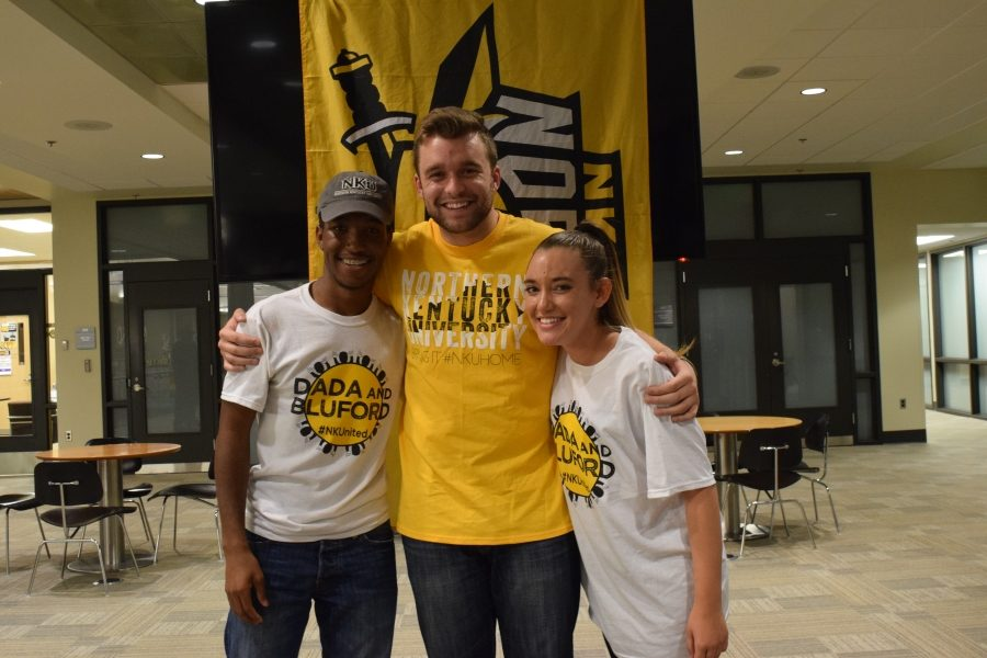 Weber will hand over his title to Sami Dada and Erica Bluford, who were recently elected to serve as the president and vice president for the 2017-2018 school year.