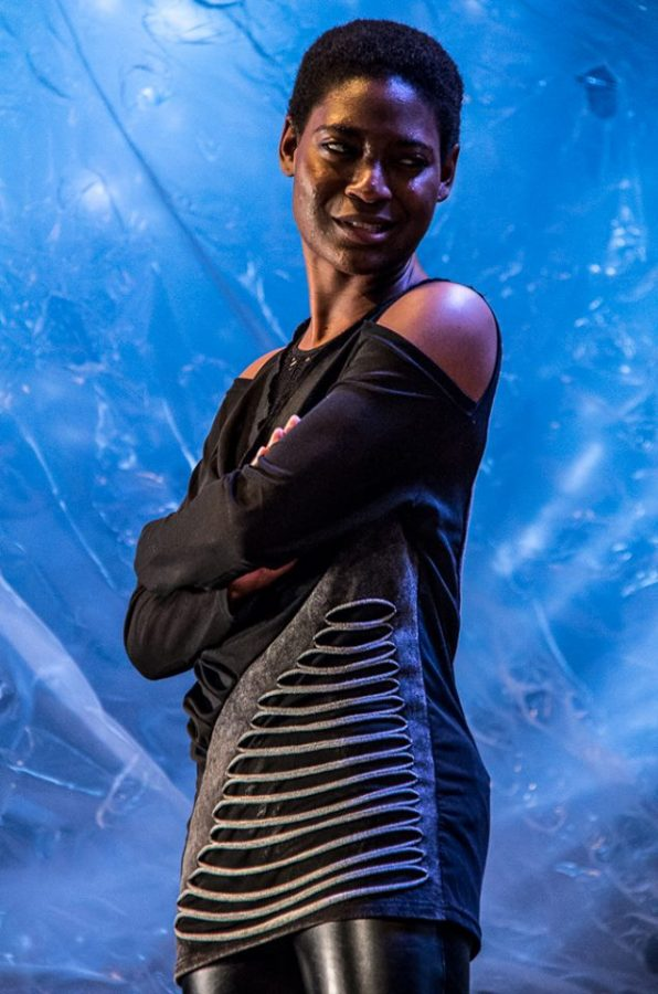 Hawkins-Johnson could feel her heart pounding as she danced on the stage of the Know Theater of Cincinnati.
