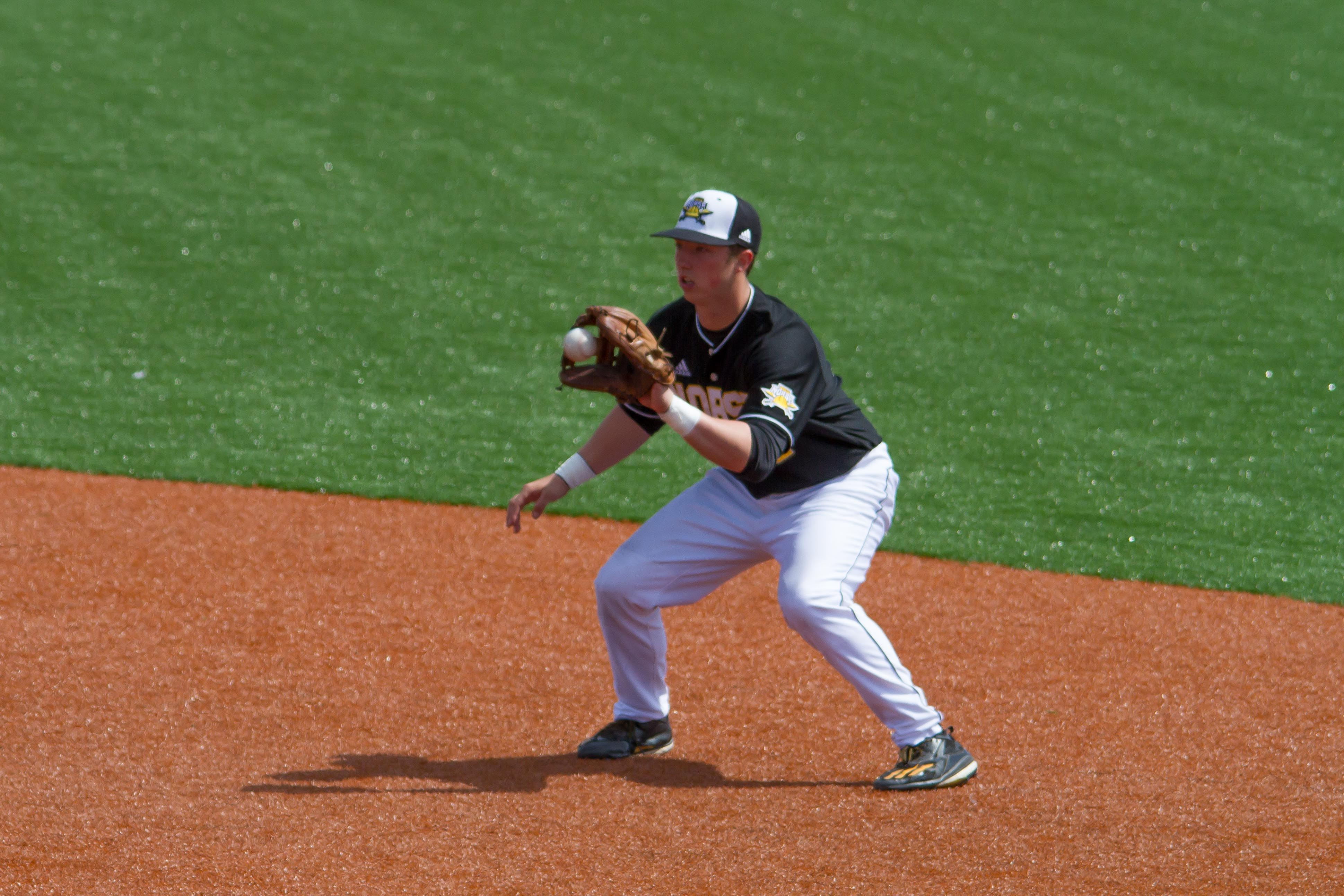 Kyle Colletta scored two runs in Sunday's victory over the Penguins