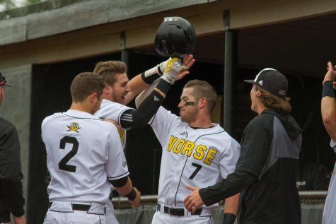 Norse split double header with Wright State