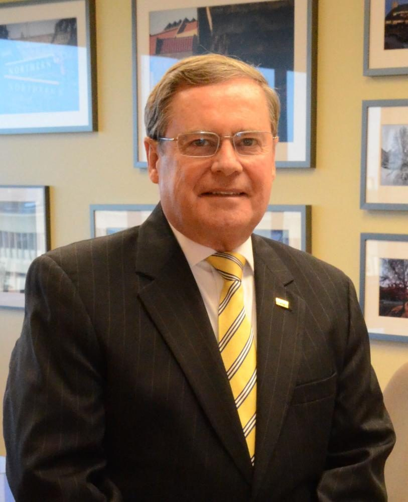 NKU's interim president Gerard St. Amand signed the American Council on Education's letter on Wednesday.