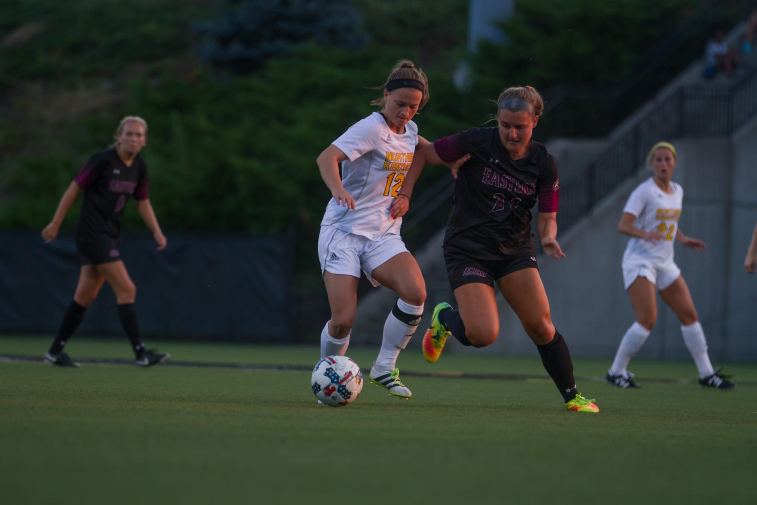 Jessica Frey scored the game winning goal against EKU Friday night.