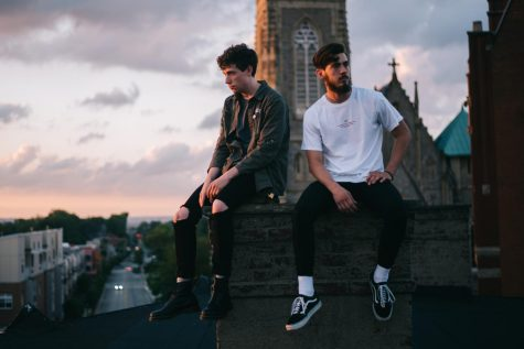 Alex Arias and Tyler Isaacs make up both halves of the Fream Collective. Both said they could see themselves staying in the Greater Cincinnati area post-graduation, citing its growing art scene.