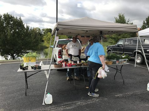 The farmer's market is held on Tuesdays at 3-6 p.m.