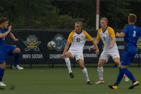 First half goals guide Norse past Fort Wayne