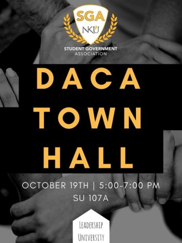 SGA will address DACA concerns at their town hall meeting on Oct. 19.