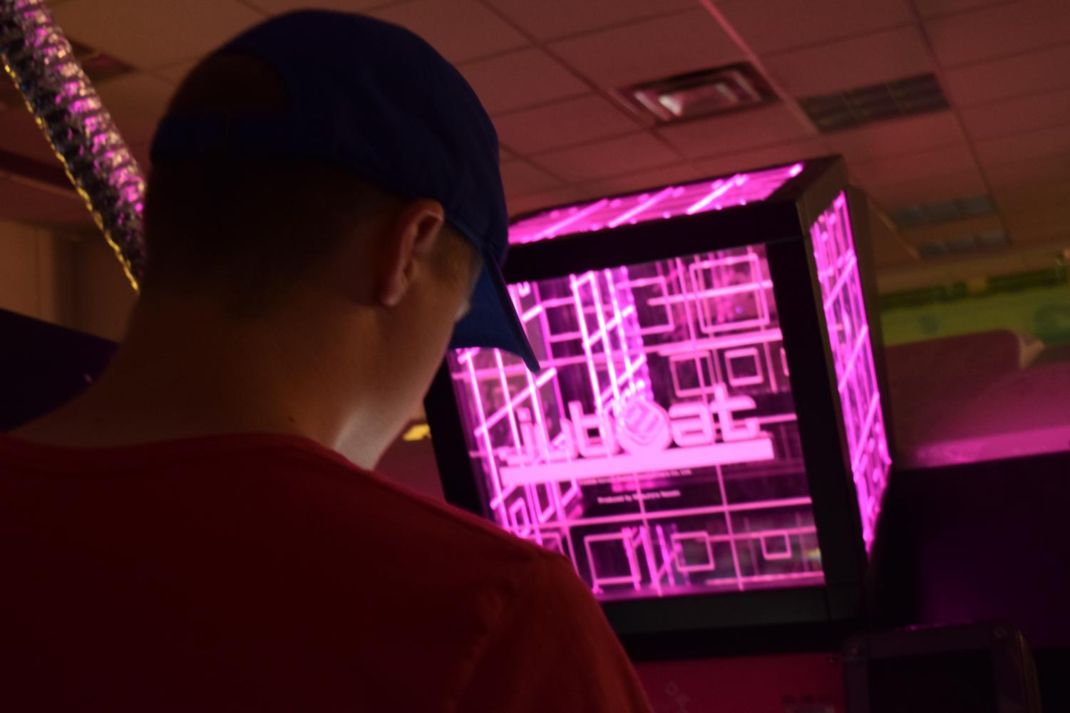 Jubeat is one of the most popular games at Arcade Legacy's flagship location in Cincinnati.