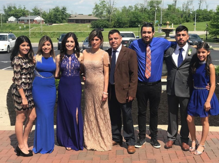 Montes credits her large family as one of the biggest motivational forces.