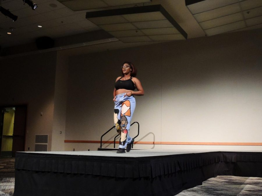 The Millennial Experience fashion show highlighted fashion and design made by local vendors