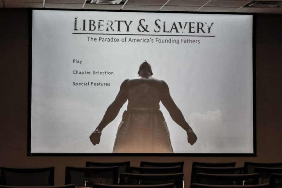 The+award-winning+documentary+%22Liberty+and+Slavery%3A+The+Paradox+of+America%27s+Founding+Fathers%22+was+shown+at+NKU+on+Sept.+28.