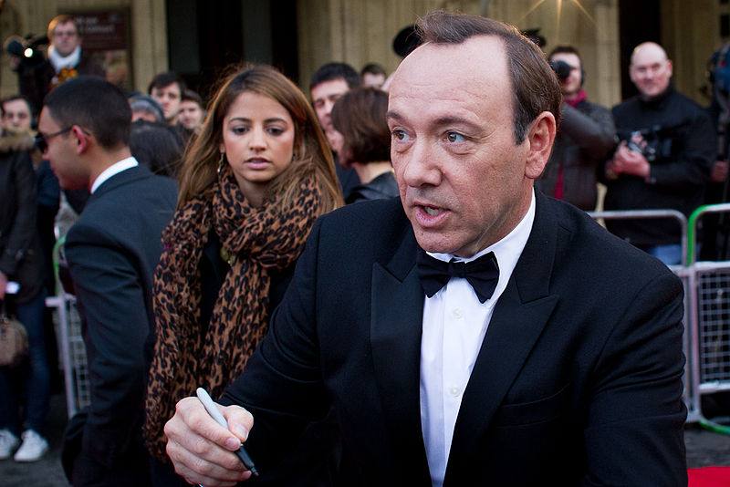 Kevin Spacey in 2011 arriving for the Mikhail Gorbachev 80th birthday concert. This week, several men have come forward with sexual assault allegations about the House of Cards actor.