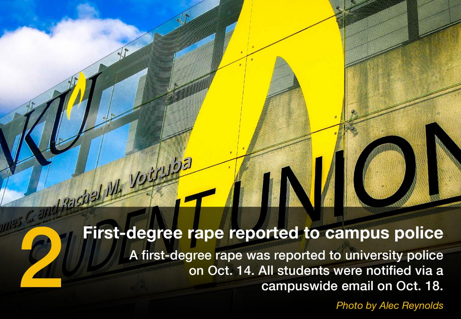 A+first-degree+rape+was+reported+to+university+police+on+Oct.+14.+All+students+were+notified+via+a+campus-wide+email+on+Oct.+18.+