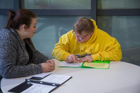 NKU's SHEP program links intellectually disabled students with peer mentors.