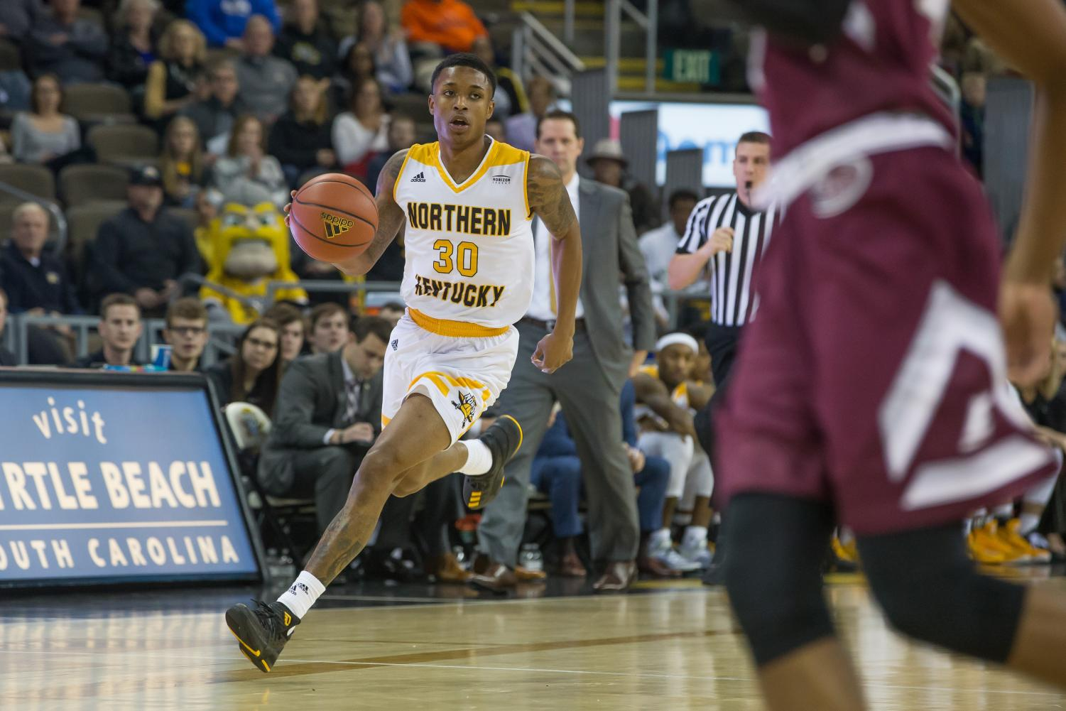 Lavone Holland dished out eight assists against IUPUI Thursday night.