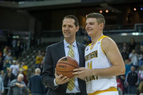 McDonald reaches 1,000 career points in win over Morehead State