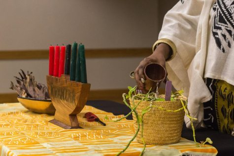 GALLERY: Before Winter break, a Kwanzaa celebration