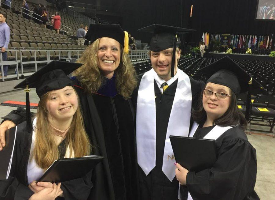 Missy Jones with graduating SHEP students