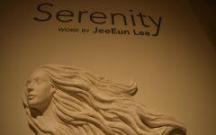 Ceramics professor's 'Serenity' a meditative ocean