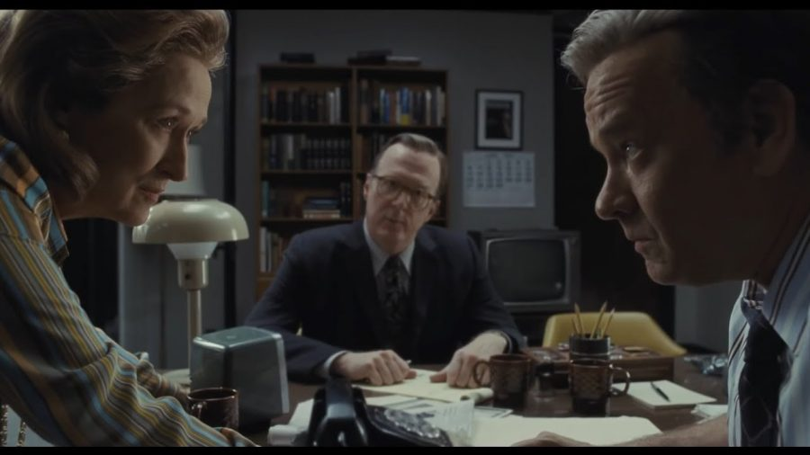 Katharine Graham (Streep) and Ben Bradlee (Hanks) are worthy foils.