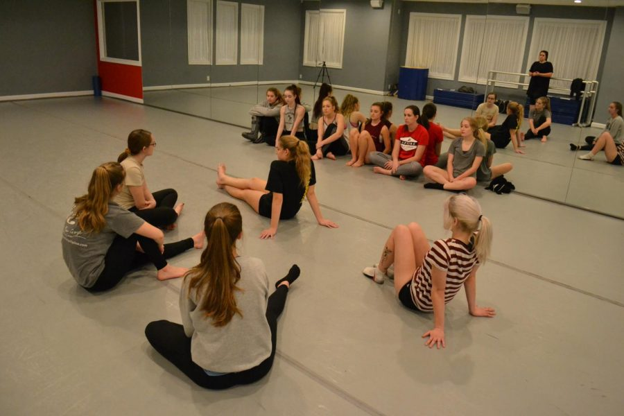 Students at Rapture Dance Studio, founded by alum Lauren Crawford.