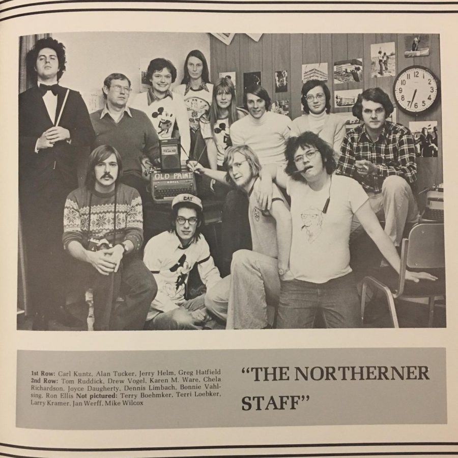 The Northerner's Staff, 1974.