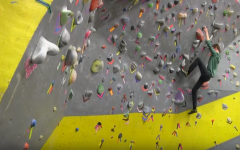 WATCH | Students Climb With Friends at the Rec Center