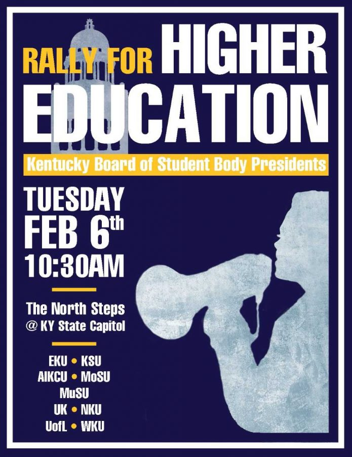 SGA will attend the Rally for Higher Education on Tuesday Feb. 6.