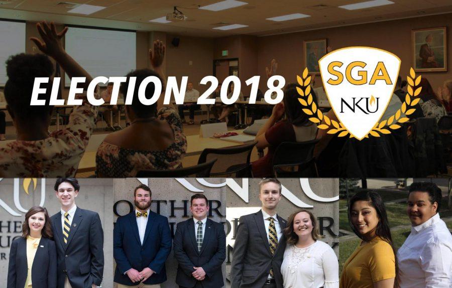 Who's running for 2018-19 SGA president?